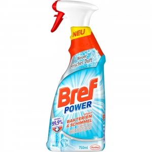 bref power bakterien spray bakterie usuwa 99,9% 750 ml
