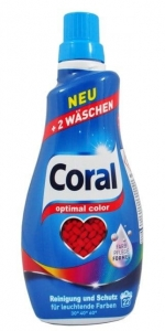 Coral optimal color żel do prania koloru 22 prań 1,1 L