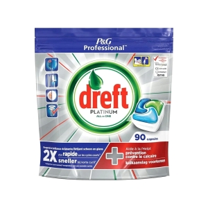 Dreft Fairy Platinum Professional Tabletki Zmywarki 90szt