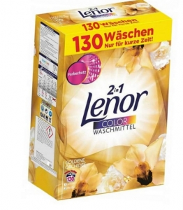 Lenor proszek goldene orchidee do koloru 130 prań 8,45 kg