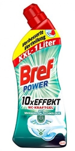 Bref Power XXL mikrobuster  żel  do wc 11x Effekt  1 L