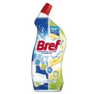 Bref gel lemonitta power płyn do mycia toalet 700ml